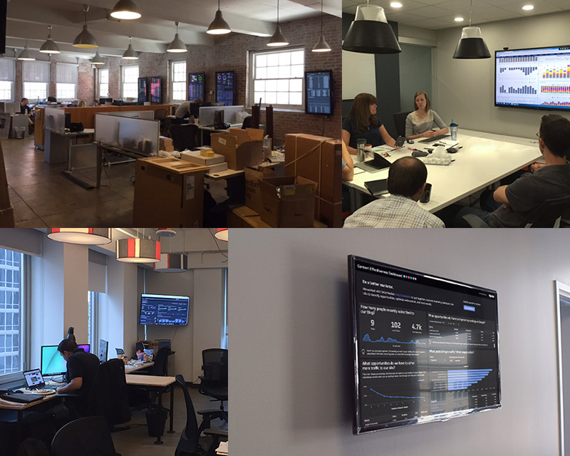 Bring Your Office Walls To Life With Live Dashboards