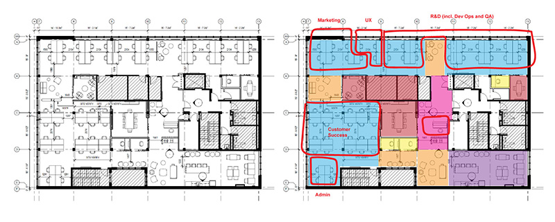 klipfolio - office floorplan