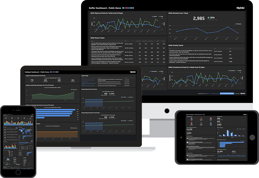 What is a data dashboard? Definition, examples and strategic