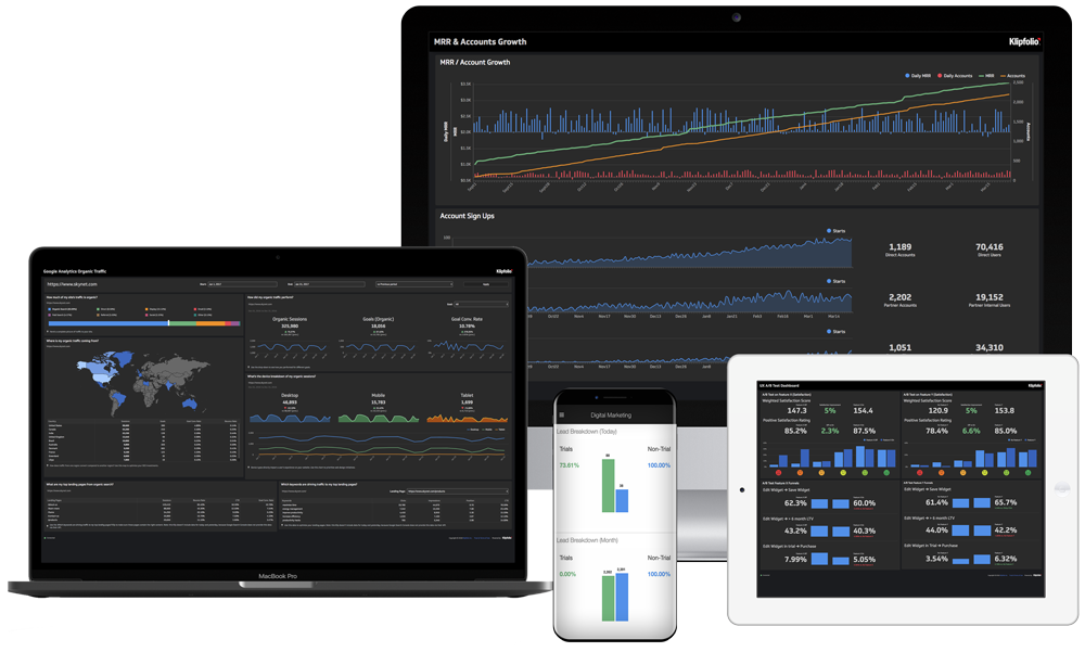 Business Intelligence and Analytics Software Devices