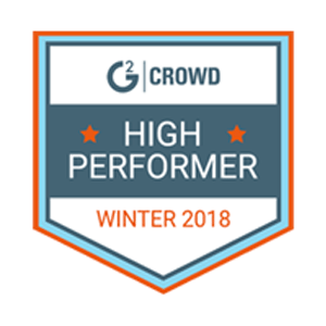 G2Crowd Award 2018