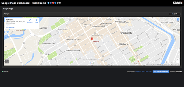 Live Dashboard | Service Dashboards: Google Maps Dashboard