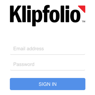 klipfolio - iphone app