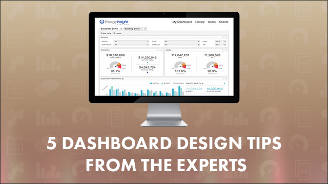 5 dashboard design tips from the experts