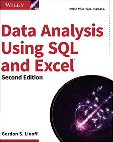 Book Cover: Data Analysis with SQL and Excel