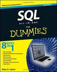 Book Cover: SQL For Dummies