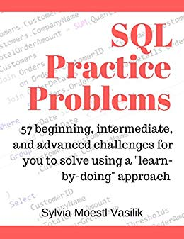 Book Cover: SQL Practice Problems