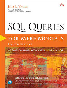 Book Cover: SQL Queries for Mere Mortals