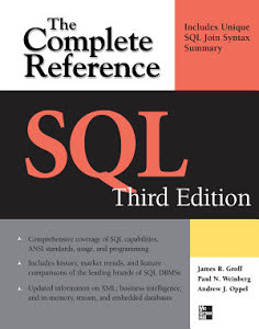 Book Cover: SQL - The Complete Reference