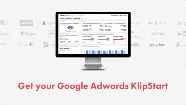 AdWords KlipStart dashboard