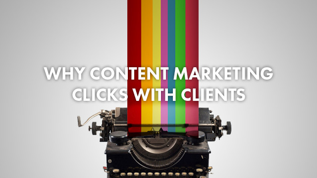 Startup Founder Blog | Why content marketing clicks with clients