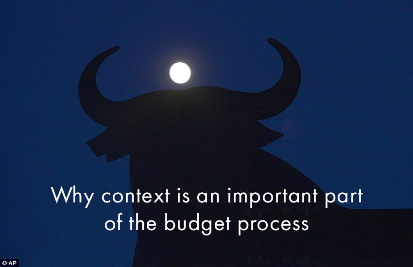 Startup Founder Blog | Why context is an important part of the budget process