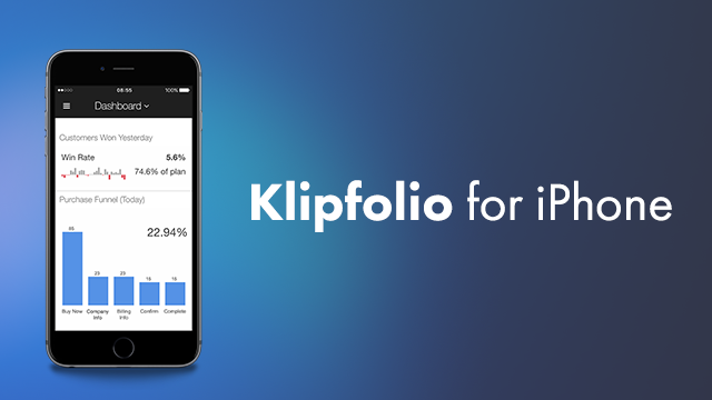 Klipfolio for iPhone is now available