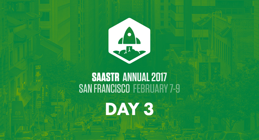 SaaStr Annual: Day 3
