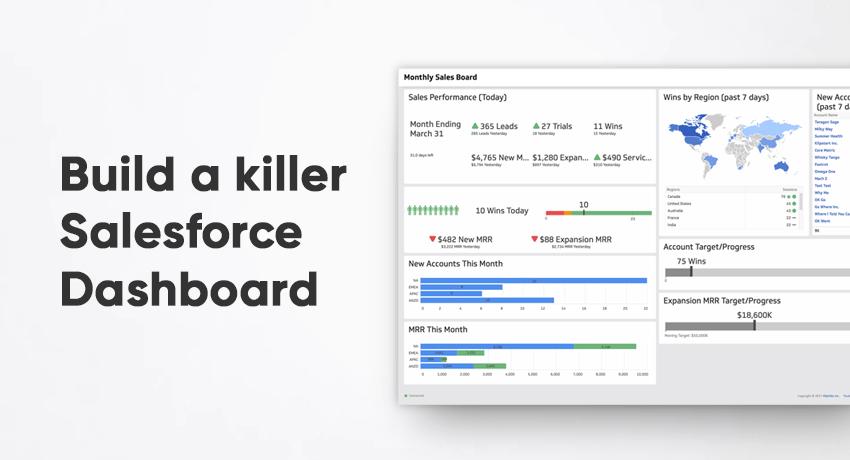 Salesforce Dashboard Course | Klipfolio com