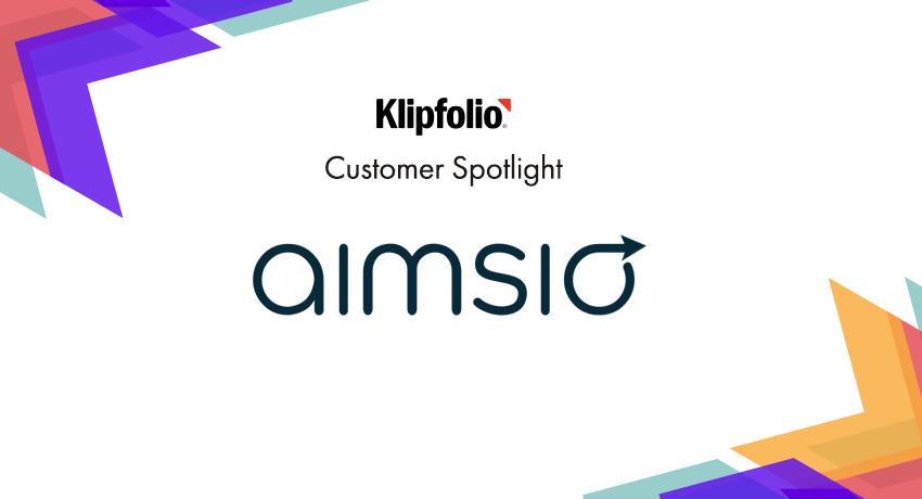 Customer Spotlight   Aimsio