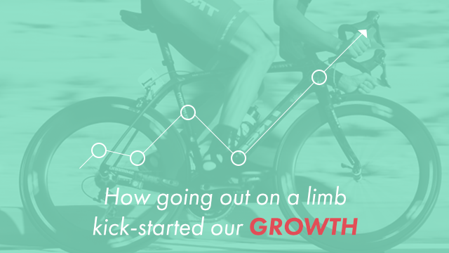 Startup Founder Blog | How going out on a limb kick started growth