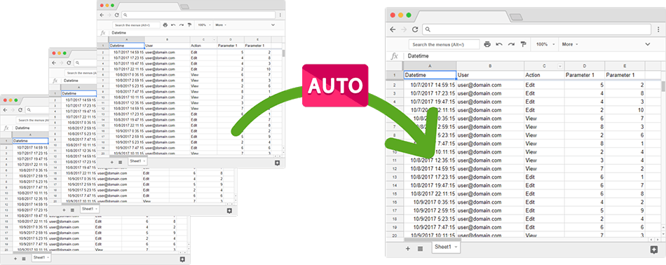 Google sheets best practices | automating the data transfer