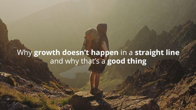 Startup Founder Blog | Why growth doesn't happen in a straight line – and why that's a good thing