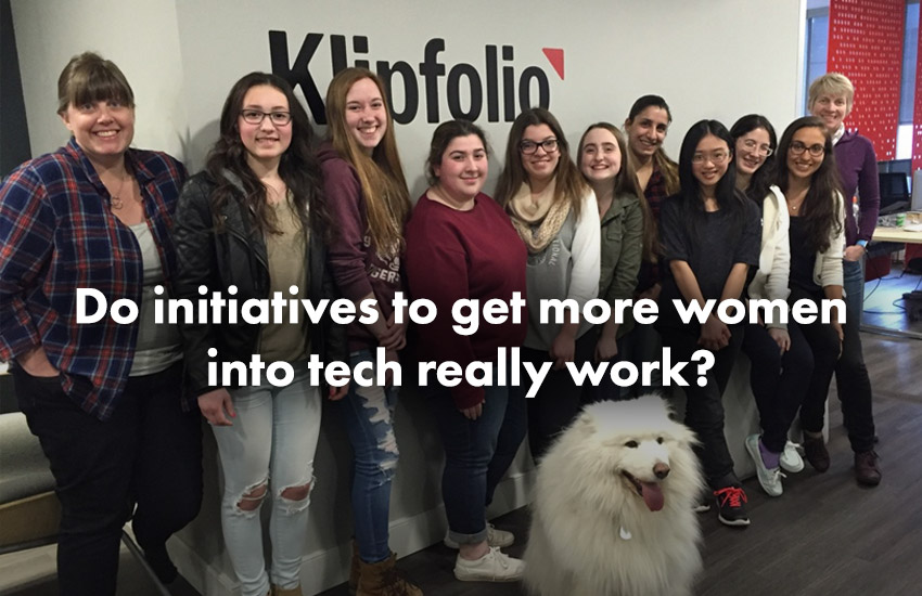 klipfolio - women in tech