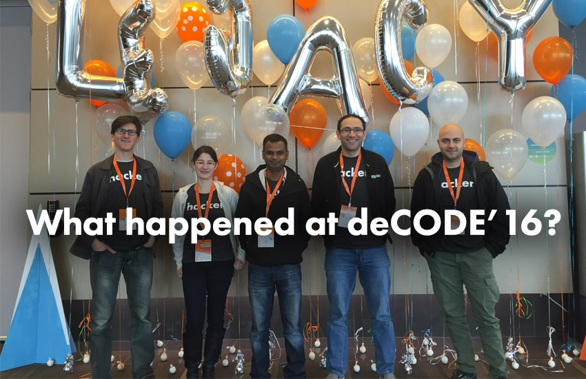 what happened at decode '16?