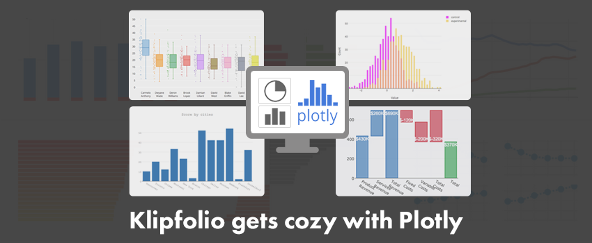 Klipfolio gets cozy with Plotly