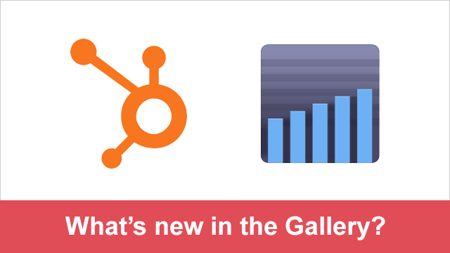 New in the Gallery - HubSpot and Mixpanel
