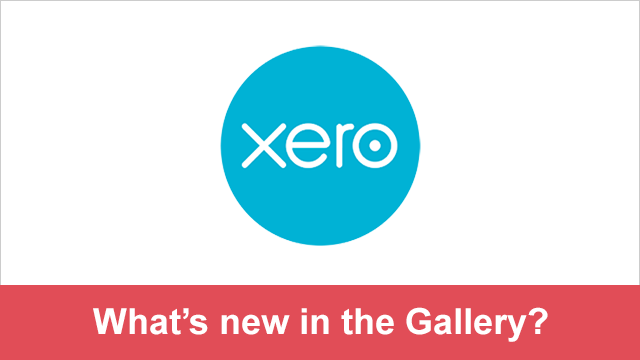 New in the Gallery - Xero