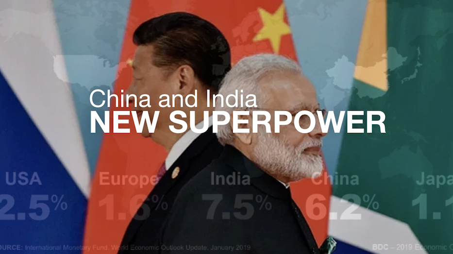 Megatrend: China and India New Superpowers