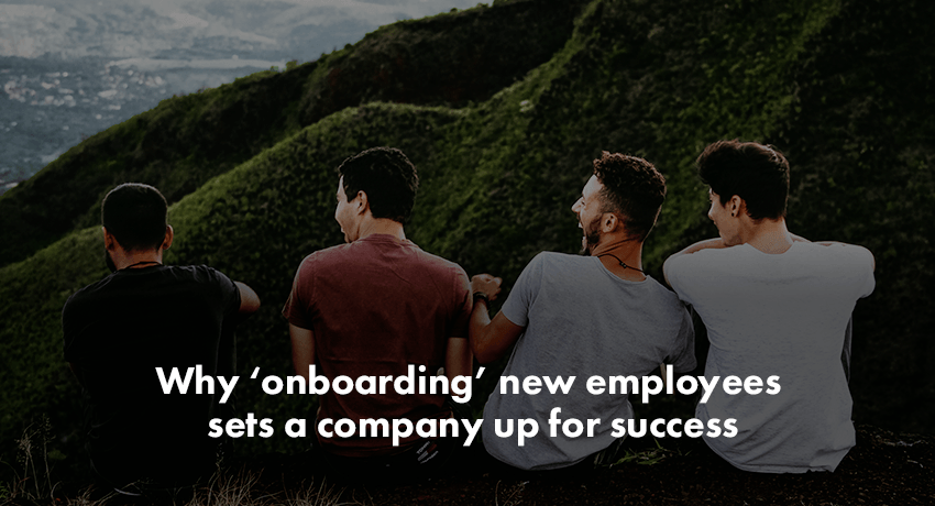 'Onboarding' New Employees Leads to Success
