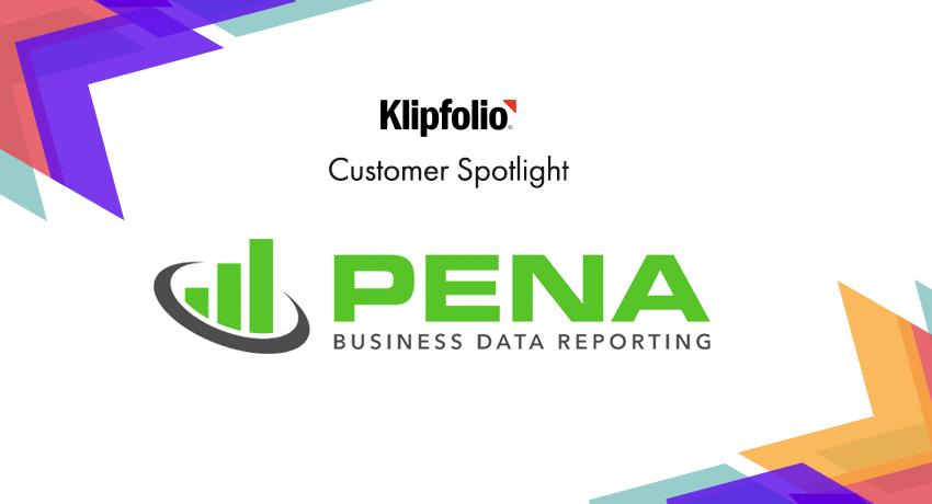 Customer Spotlight | Pena Business Data Reporting