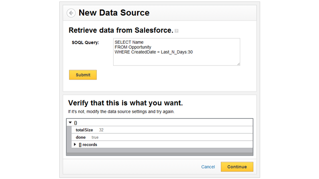 Getting started with SOQL - Klipfolio