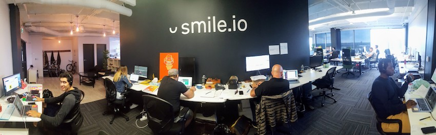 Inside the office of Smile.io