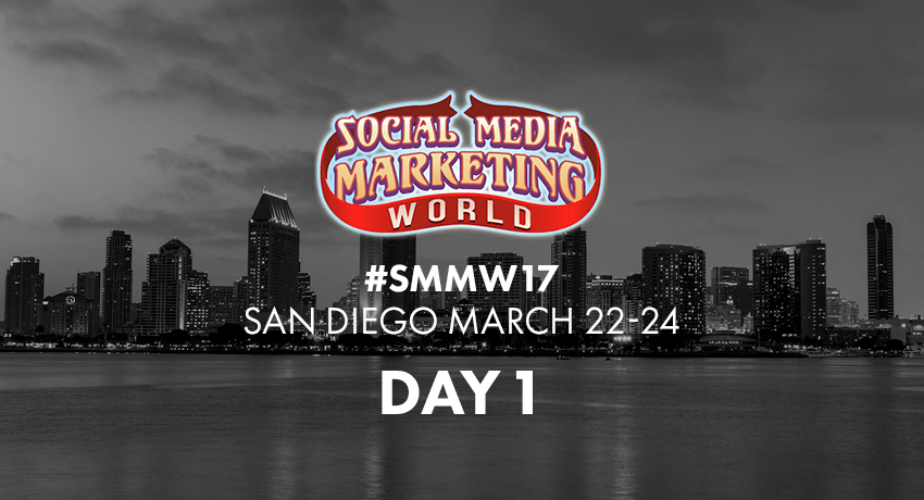 Social Media Marketing World 2017 Day 1