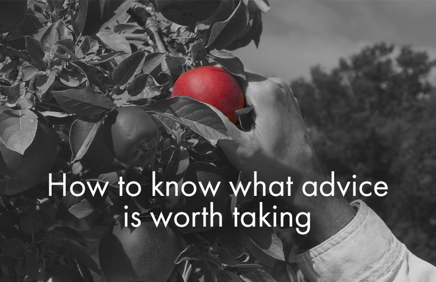 Startup Founder Blog | How to know what advice is worth taking