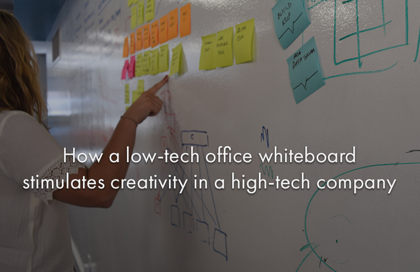 klipfolio - low tech whiteboard