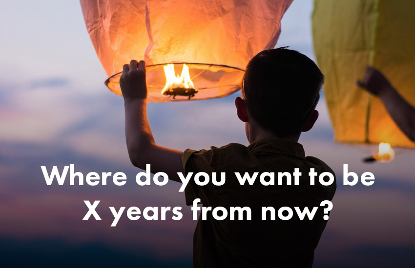 Startup Founder - Where do you want to be X years from now?