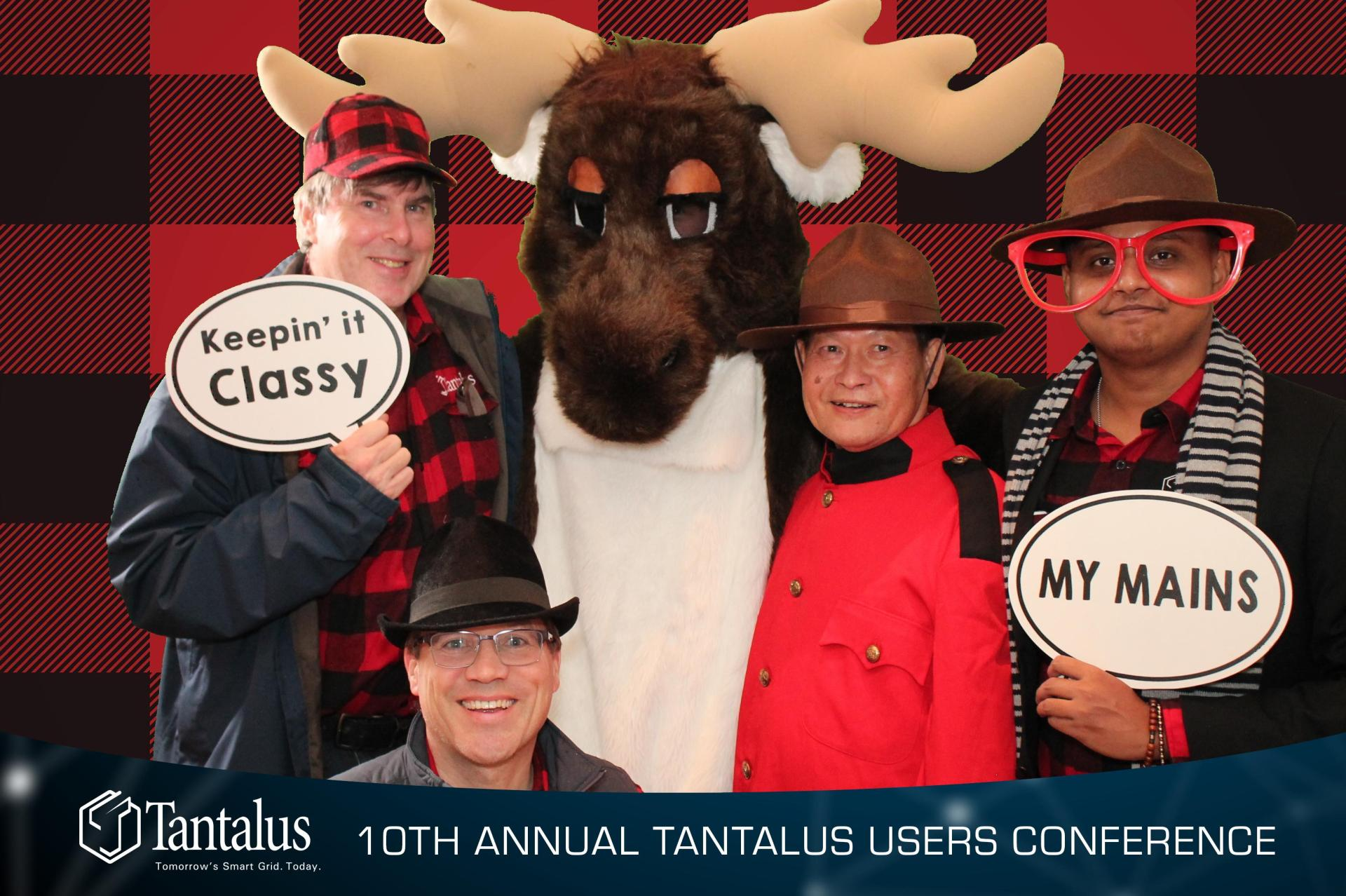 team photo at event