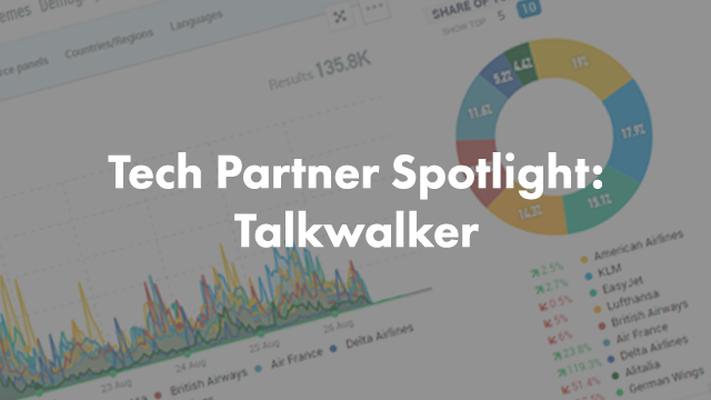In this Tech Partner spotlight, we're featuring Talkwalker, a social media intelligence platform. This is a seriously cool tool for social media and digital marketers. Check out this guest blog post.