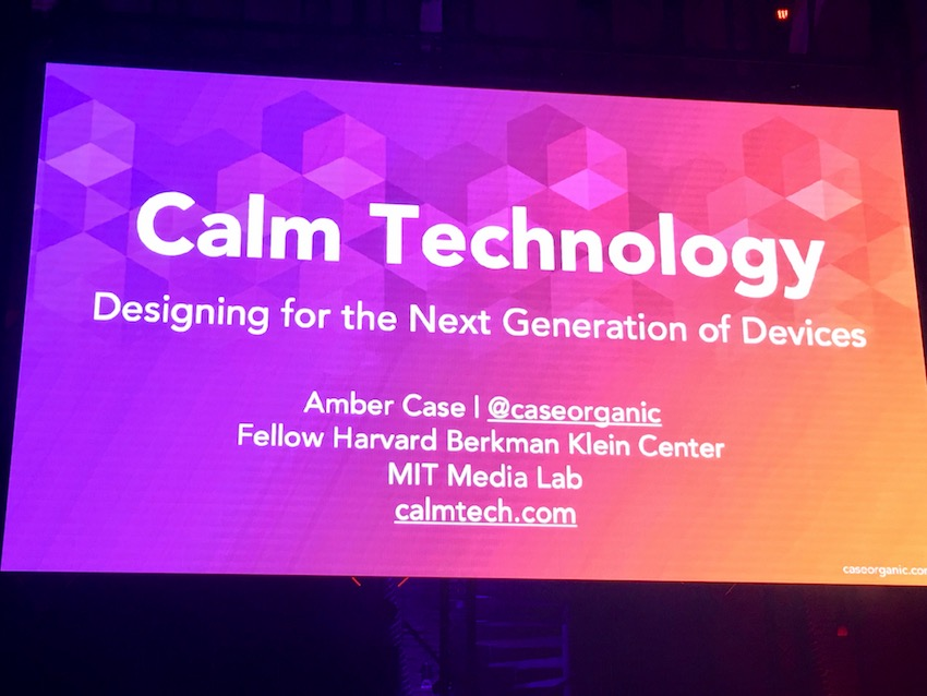 tnw conference 2017 calm technology
