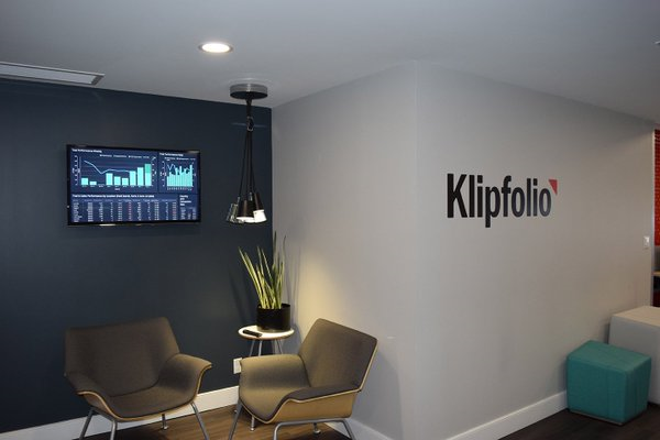 klipfolio tv dashboard