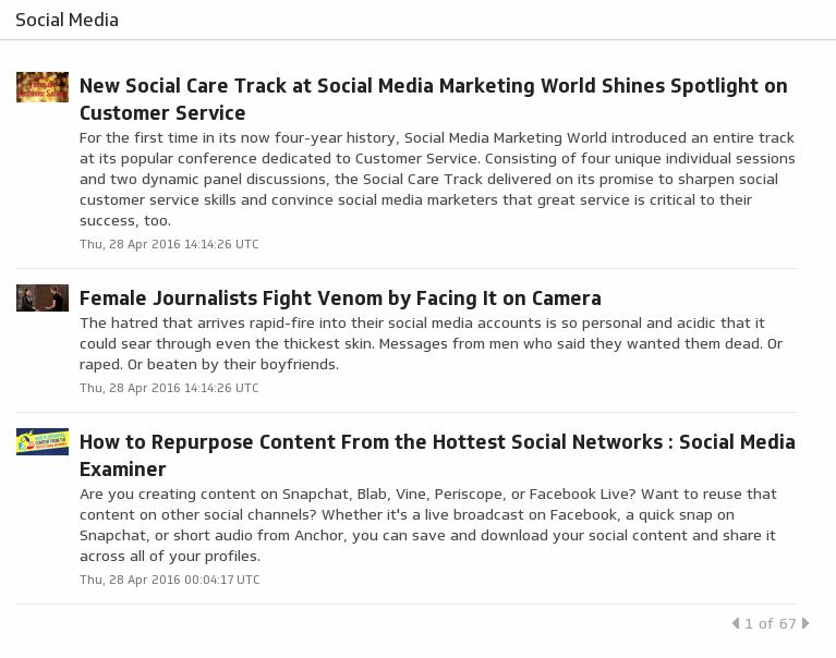 Klip Template | TrendSpottr - Social Media