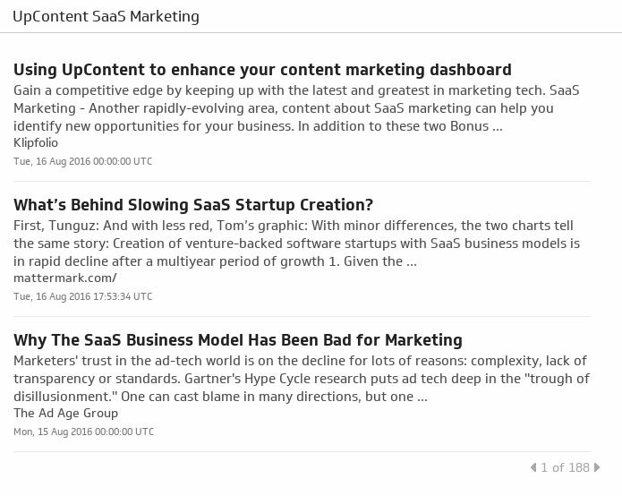 Klip Template | UpContent - SaaS Marketing
