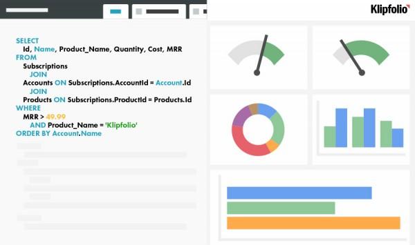 PostgreSQL Dashboard - Integrations   Klipfolio com