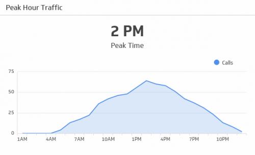 Call Center KPI Examples | Peak Hour Traffic