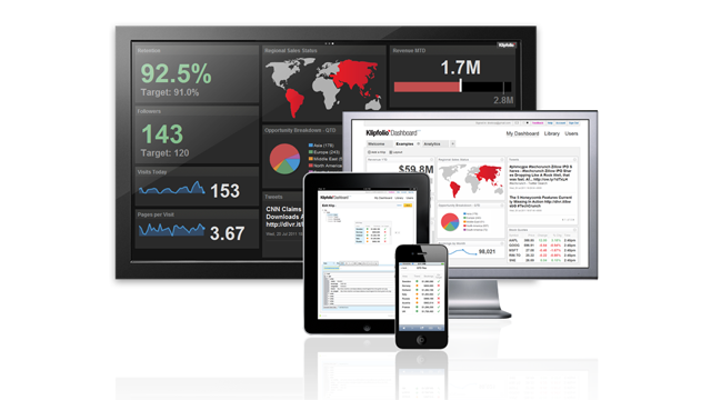 The beta - and the wait - is over. Klipfolio Dashboard for web and mobile is live!
