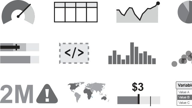 Business dashboard design: Choosing the right visualization for your dashboard