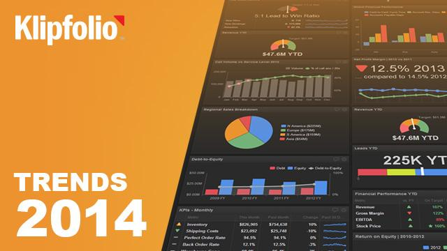 Top business trends for dashboards in 2014