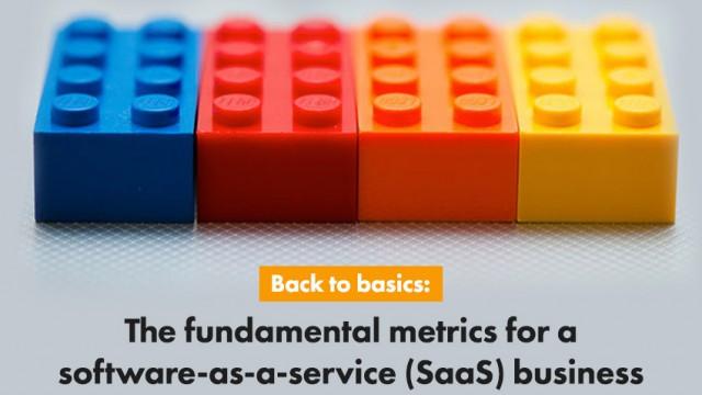 klipfolio - fundamental metrics for a SaaS business