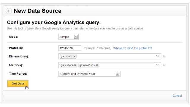 Menus and Metrics - Using Google Analytics as a data source